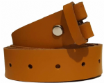 30mm LondonTan Snap Fit Leather Belt